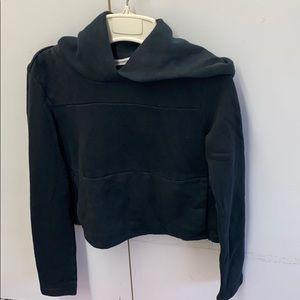 Hurley crop hoodie